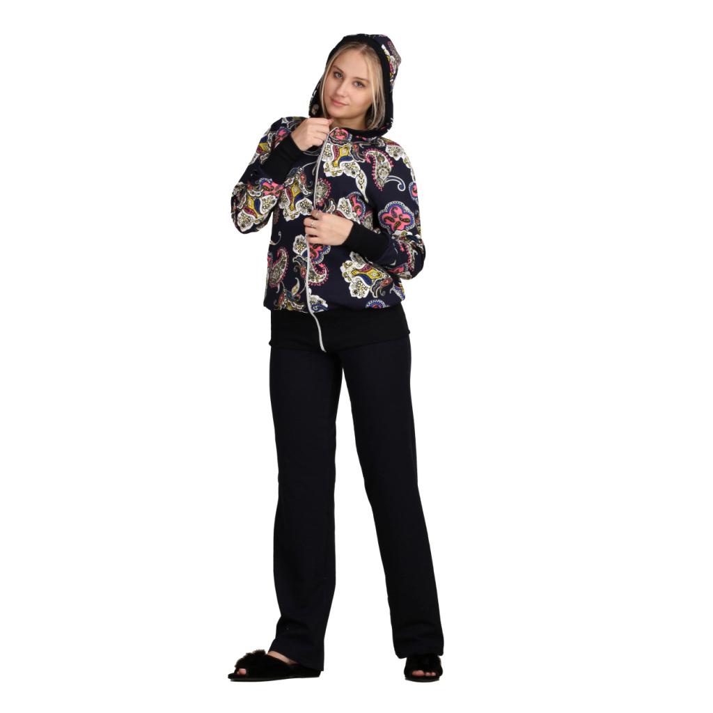 Женский костюм «Лина» синий, размер 46 ЕленаТекс
