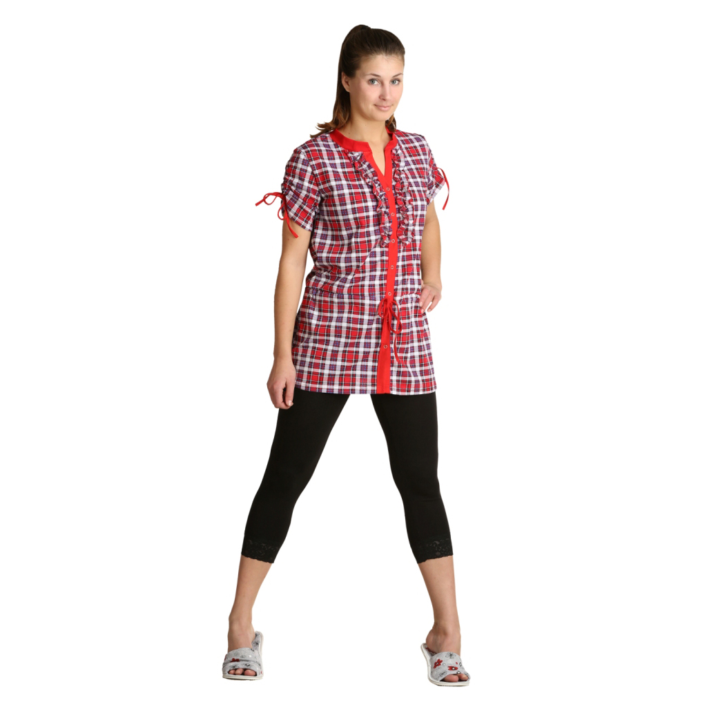 Женская туника Маки Красный, размер 58Платья, туники<br>Обхват груди:116 см<br>Обхват талии:100 см<br>Обхват бедер:124 см<br>Длина по спинке:84 см<br>Рост:164-170 см<br><br>Тип: Жен. туника<br>Размер: 58<br>Материал: Кулирка