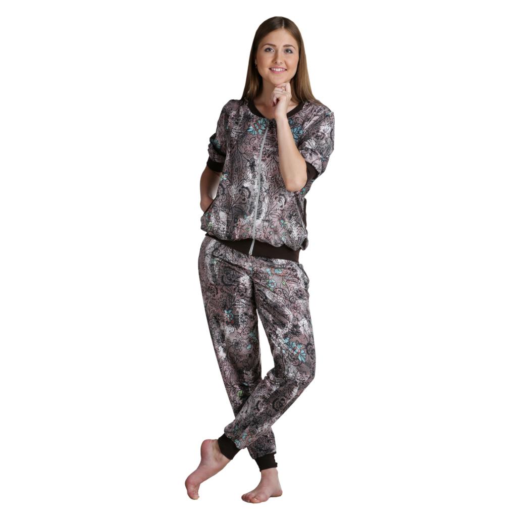 Женский костюм «Илона» Бежевый, размер 44 ЕленаТекс