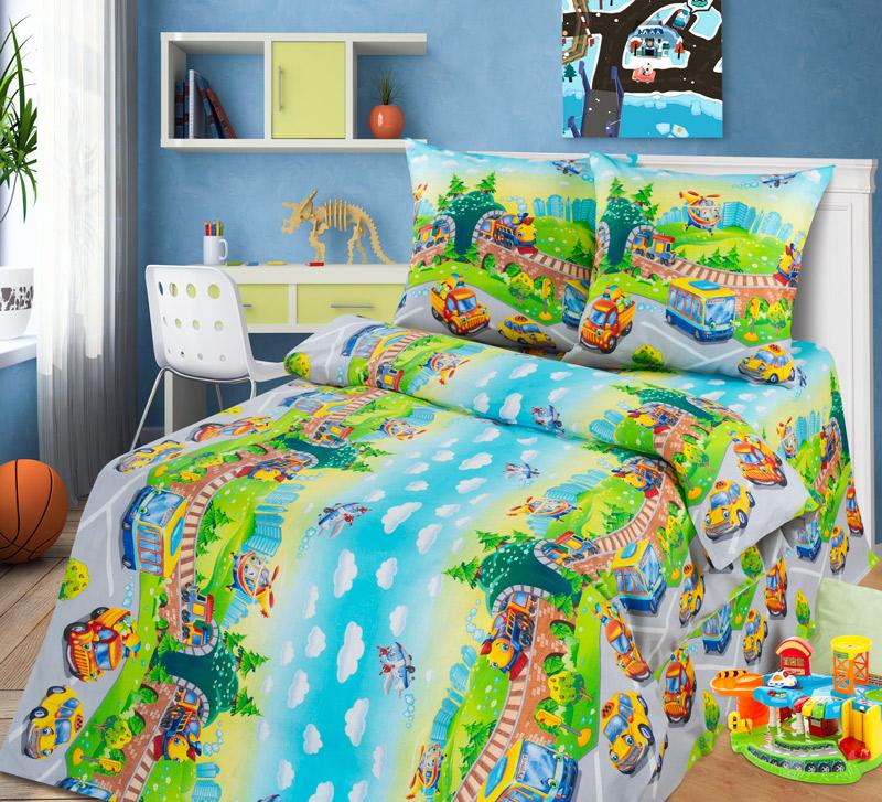 Детский комплект  Детский парк , размер 1,5-спальный - Постельное белье артикул: 7795