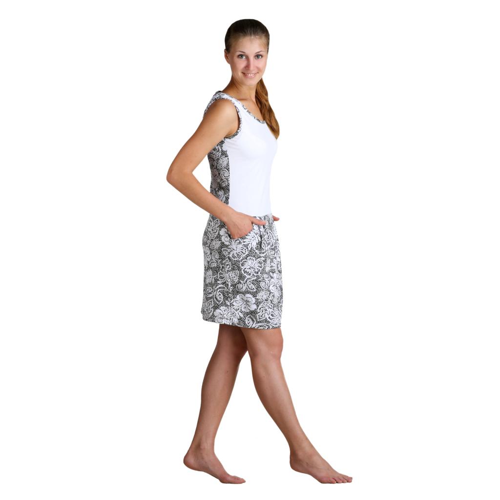 Женское платье Селли, размер 54Платья, туники<br>Обхват груди:108 см<br>Обхват талии:90 см<br>Обхват бедер:116 см<br>Длина по спинке:95 см<br>Рост:164-170 см<br><br>Тип: Жен. платье<br>Размер: 54<br>Материал: Кулирка