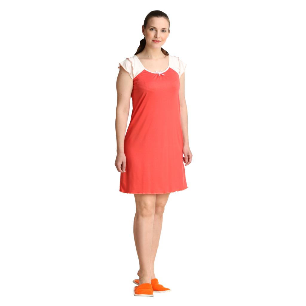 """Женская сорочка """"Анна"""", размер 44 ЕленаТекс"""