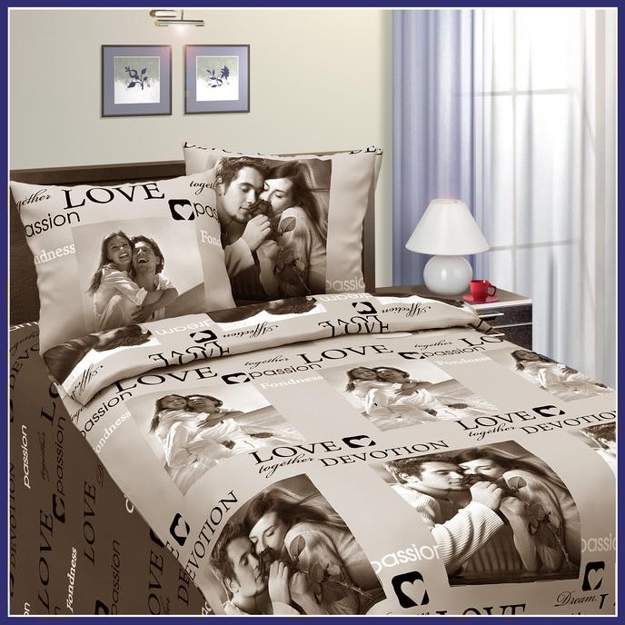 КПБ Сладкая парочка Бежевый, размер 2,0-спальный кпб сити в коричневом размер 2 0 спальный