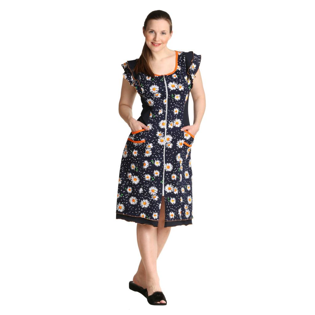 Женский халат «Марина», размер 50 ЕленаТекс