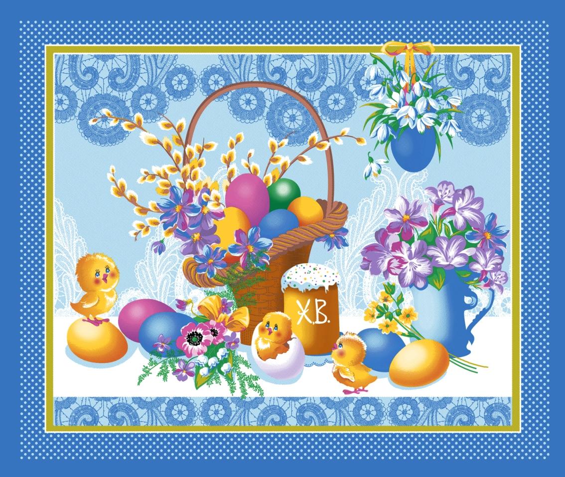 Вафельное полотенце Светлый праздник, размер 50х60 смПолотенца вафельные<br><br><br>Тип: Вафельное полотенце<br>Размер: 50х70<br>Материал: Вафельное полотно