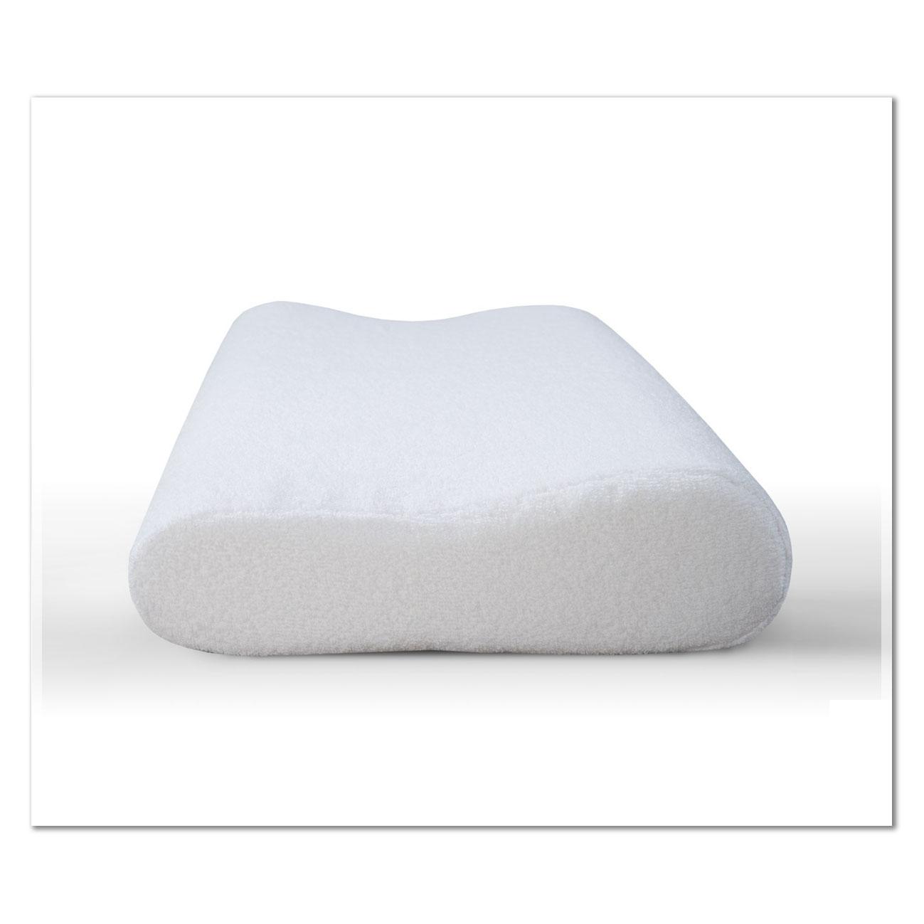 C комбинированным чехломПодушки ортопедические<br>Чехол: Съемный, на молнии <br>Высота подушки: 13 см<br><br>Тип: Подушка<br>Размер: 40х60<br>Материал: Полиэстер