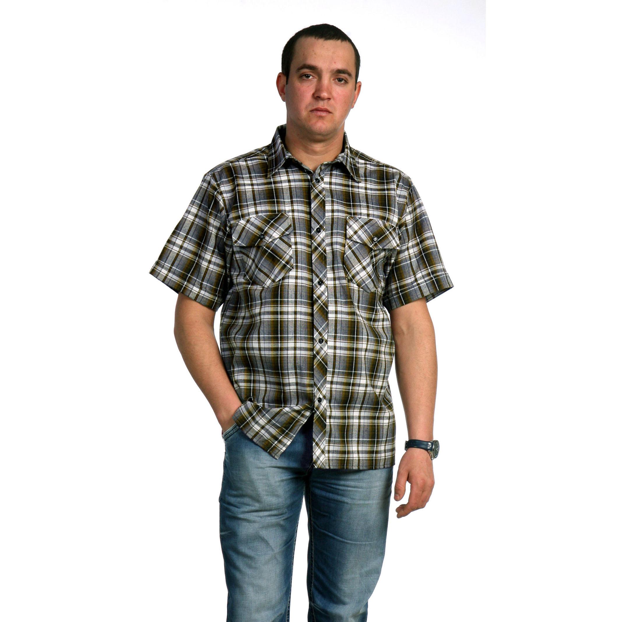 Мужская рубашка «Аллан» арт. 0012, размер 46 Лика Дресс