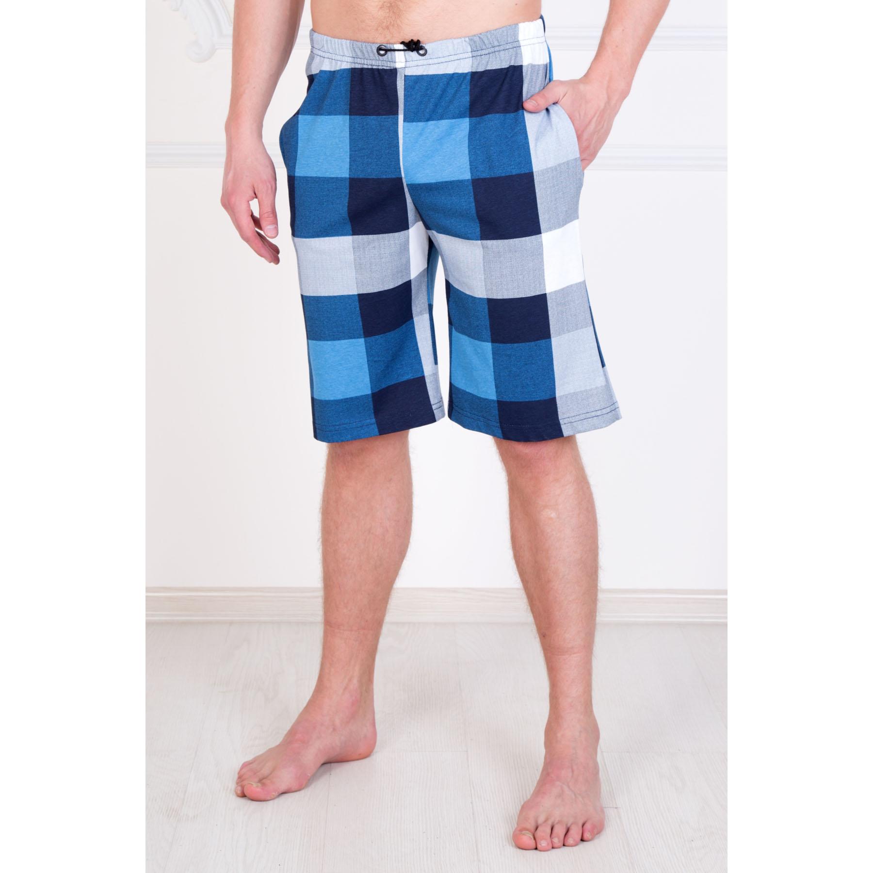 """Мужские шорты """"Пляжные"""" Синий, размер 52 Лика Дресс"""