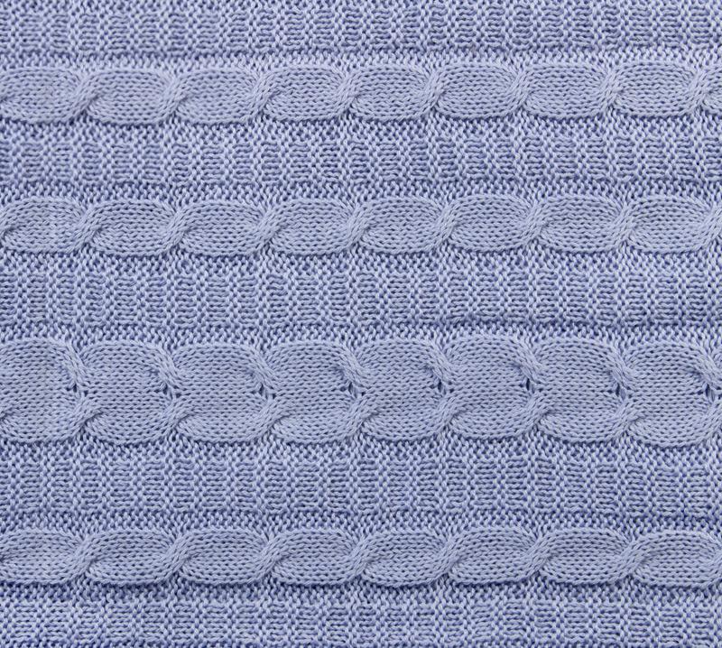 Вязанный плед Лаванда, размер 140х180 см.Покрывала, пледы и коврики<br><br><br>Тип: Плед<br>Размер: 140х180<br>Материал: -