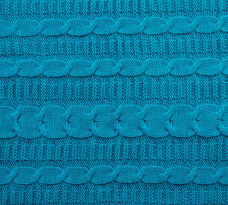 Вязанный плед Лазурит, размер 140х180 см.Покрывала, пледы и коврики<br><br><br>Тип: Плед<br>Размер: 140х180<br>Материал: -