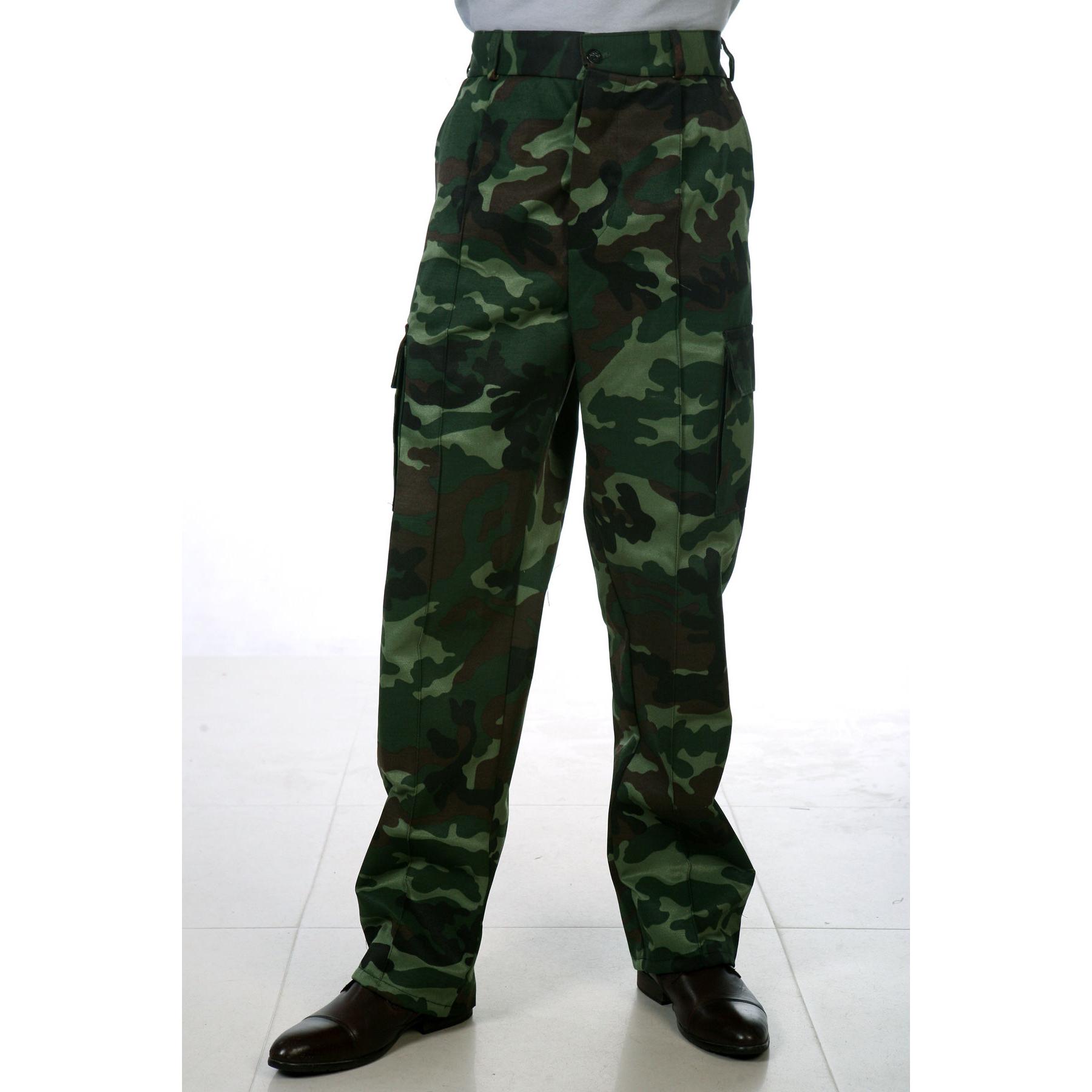 Мужские брюки «Камуфляж», размер 44Спецодежда<br><br><br>Тип: Муж. брюки<br>Размер: 44<br>Материал: Грета