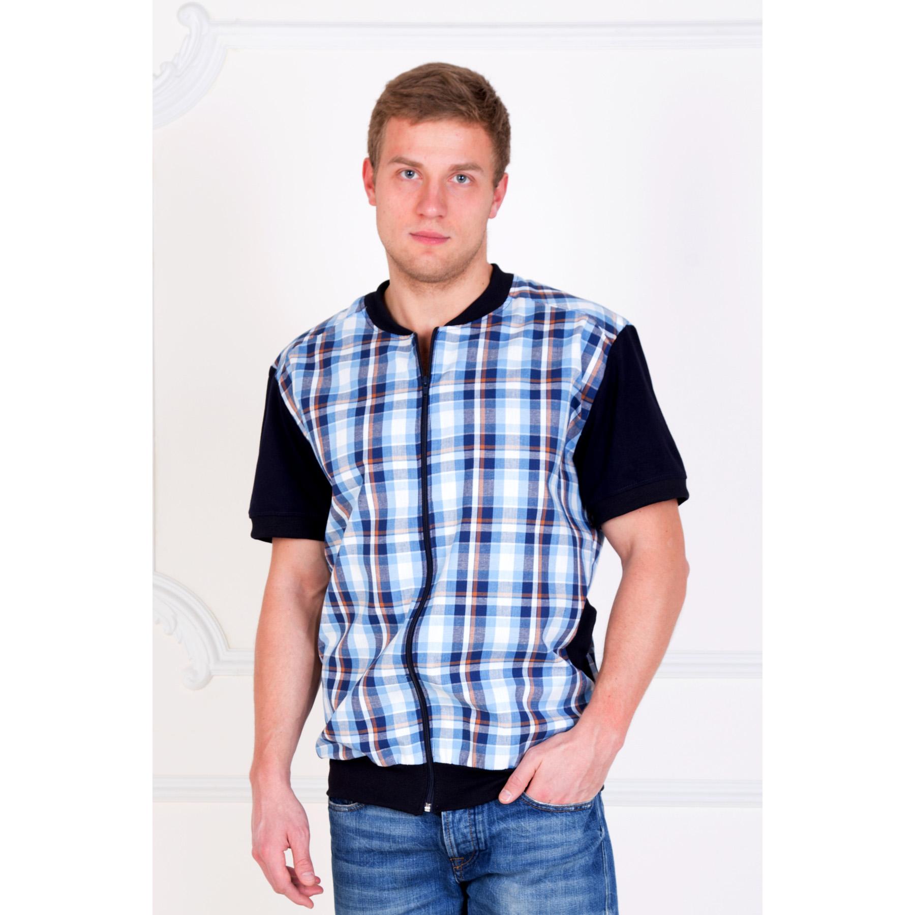 Мужская рубашка Аполлон арт. 0029, размер 48Толстовки, джемпера и рубашки<br>Обхват груди:96 см<br>Обхват талии:88 см<br>Обхват бедер:102 см<br>Рост:172-180 см<br><br>Тип: Муж. рубашка<br>Размер: 48<br>Материал: Шотландка
