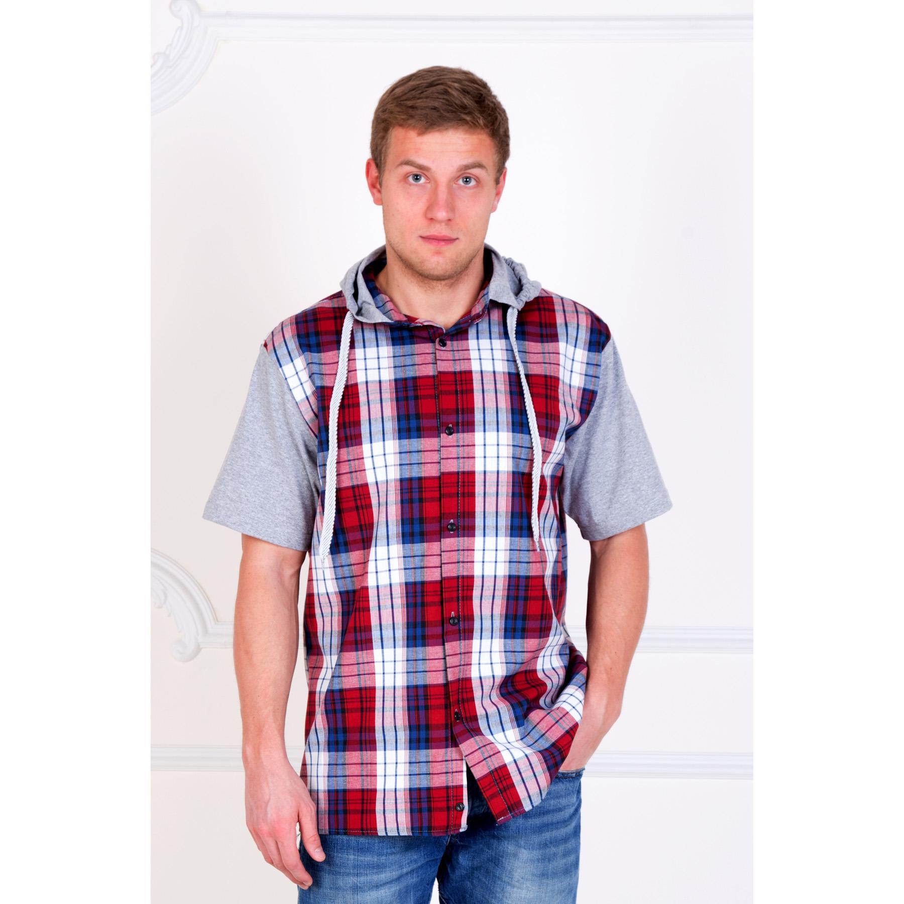 Мужская рубашка «Юстин» арт. 0032, размер 44 - Мужская одежда артикул: 16689