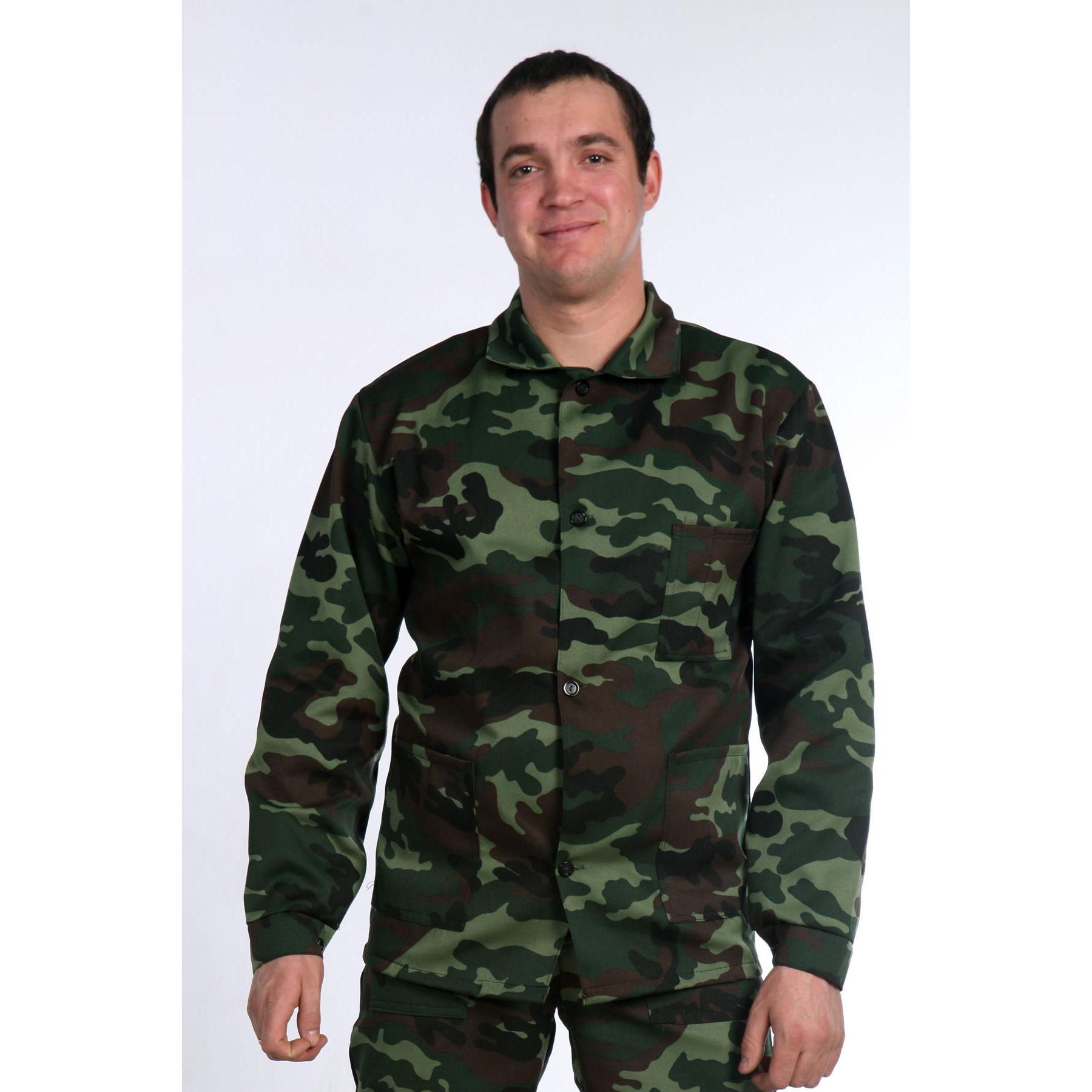 Купить со скидкой Мужской костюм «Камуфляж», размер 44