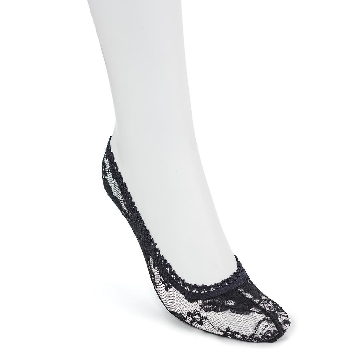Следки Анфиса, цвет ЧерныйНоски и чулки<br><br><br>Тип: Жен. носки<br>Размер: 36-41<br>Материал: Полиэстер