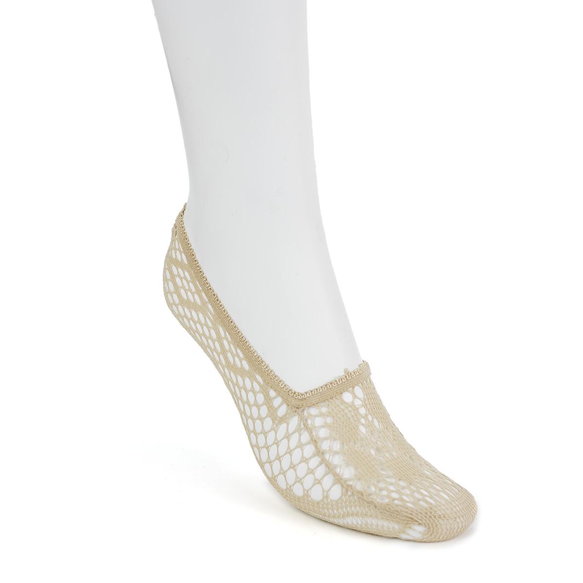 Следки Korea, цвет ТелесныйНоски и чулки<br><br><br>Тип: Жен. носки<br>Размер: 37-41<br>Материал: Полиэстер