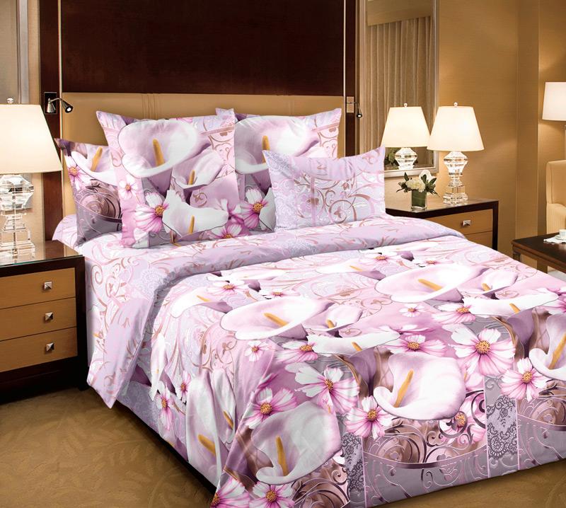 КПБ Амалия Розовый, размер 2,0-спальный кпб сити в коричневом размер 2 0 спальный