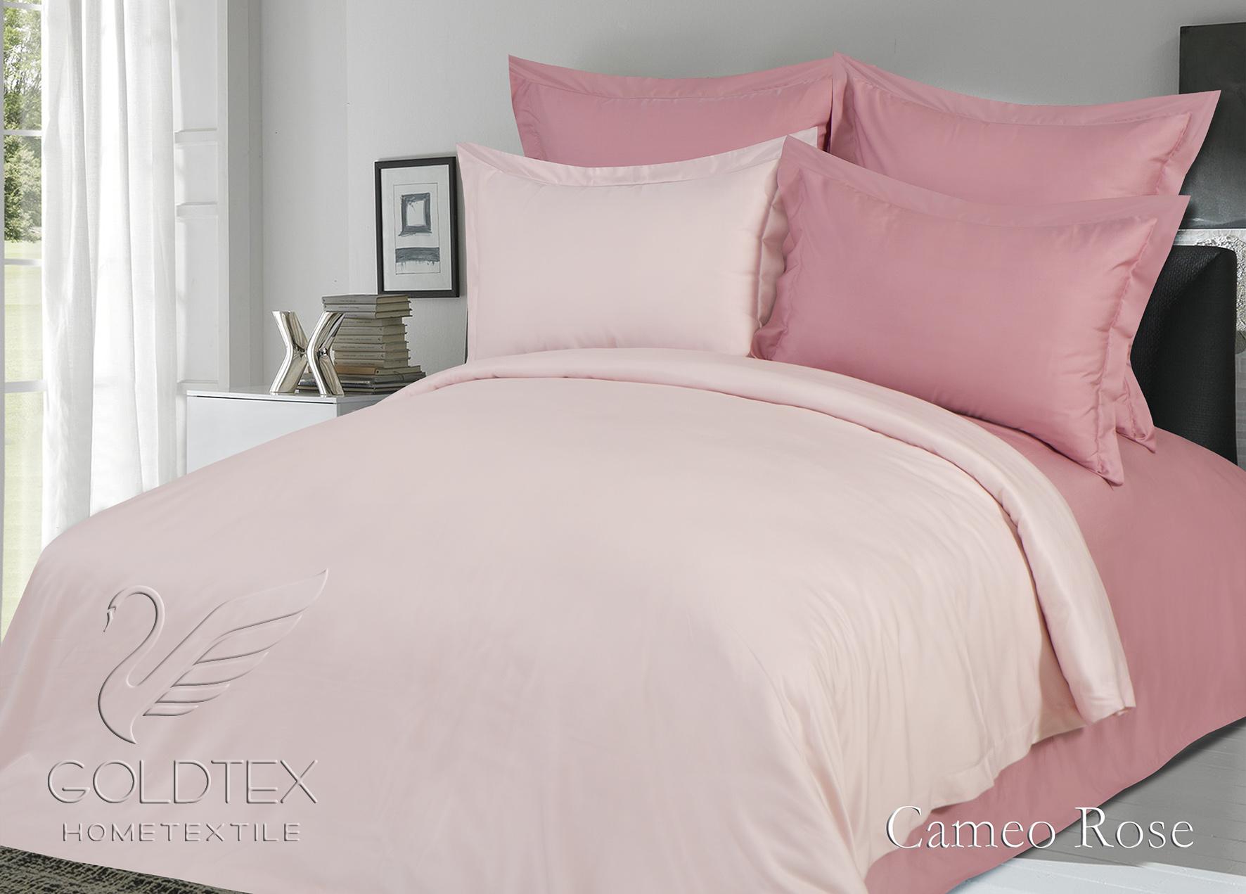 Комплект  Cameo Rose , размер 2,0-спальный с 4 наволочками - Постельное белье артикул: 10852