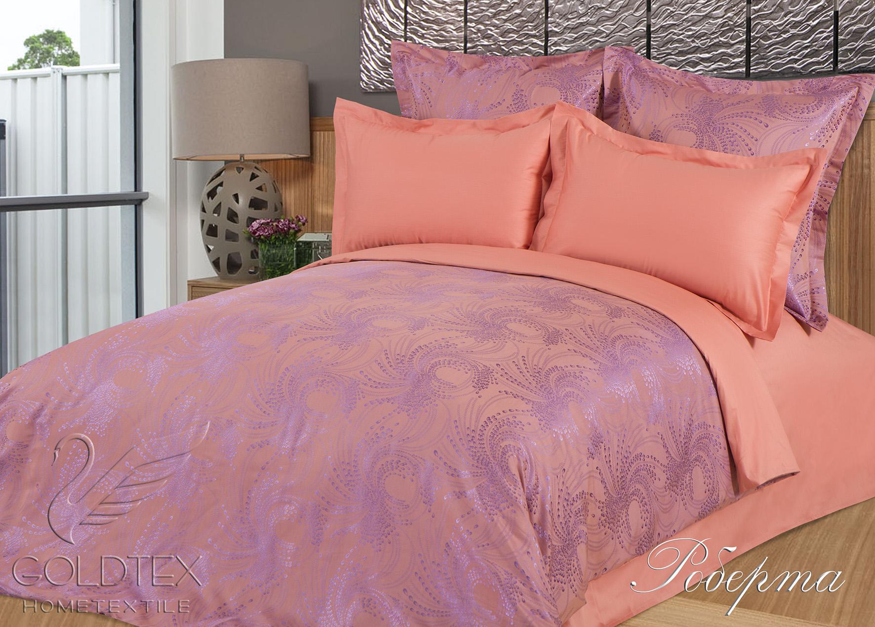 Комплект  Роберта , размер 2,0-спальный с 4 наволочками - Постельное белье артикул: 10687