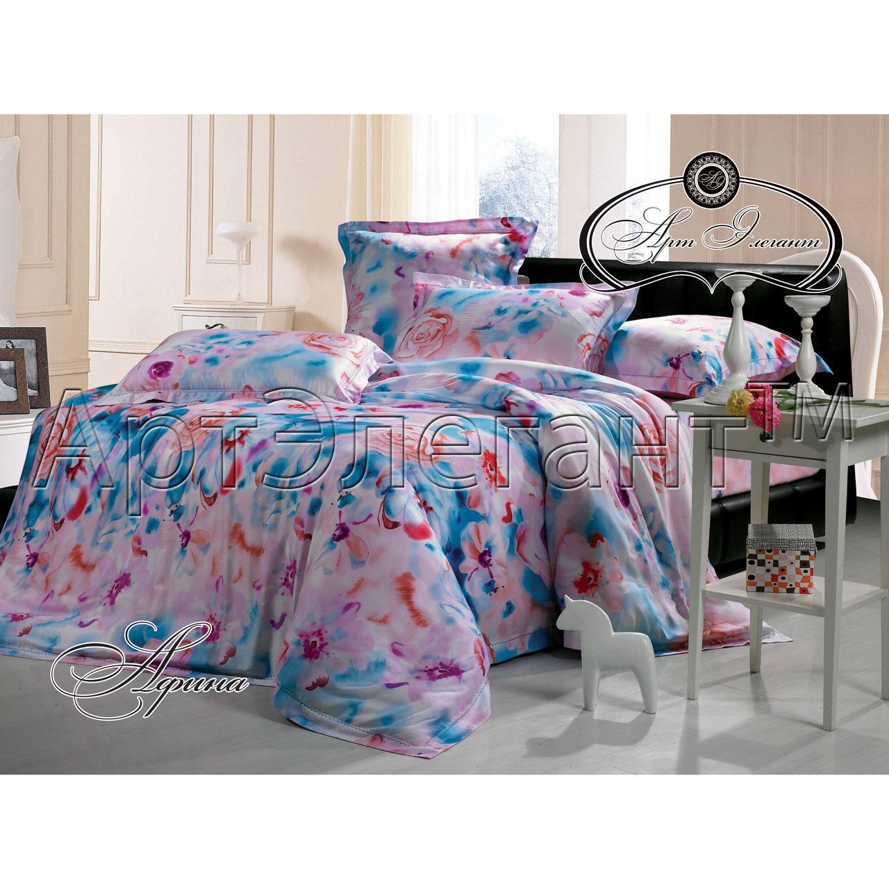 Комплект  Афина , размер 2,0-спальный с 4 наволочками - Постельное белье артикул: 10784