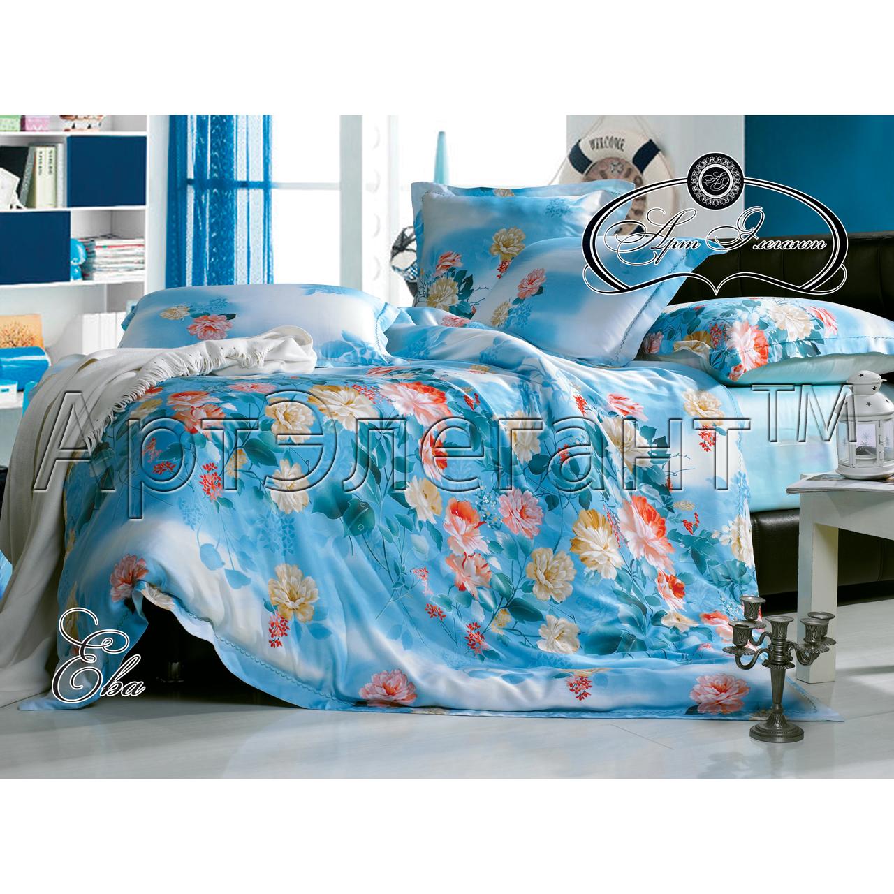 Комплект  Ева , размер 2,0-спальный с 4 наволочками - Постельное белье артикул: 10775