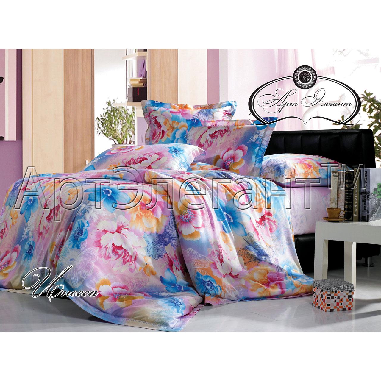 Комплект  Инесса , размер 2,0-спальный с 4 наволочками - Постельное белье артикул: 10776