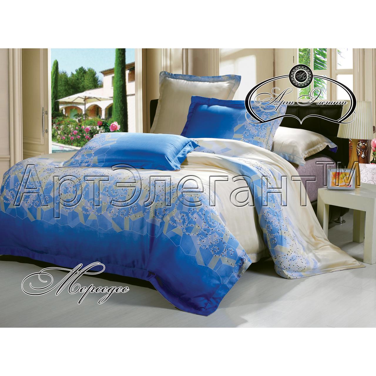 Комплект  Мерседес , размер 2,0-спальный с 4 наволочками - Постельное белье артикул: 10783