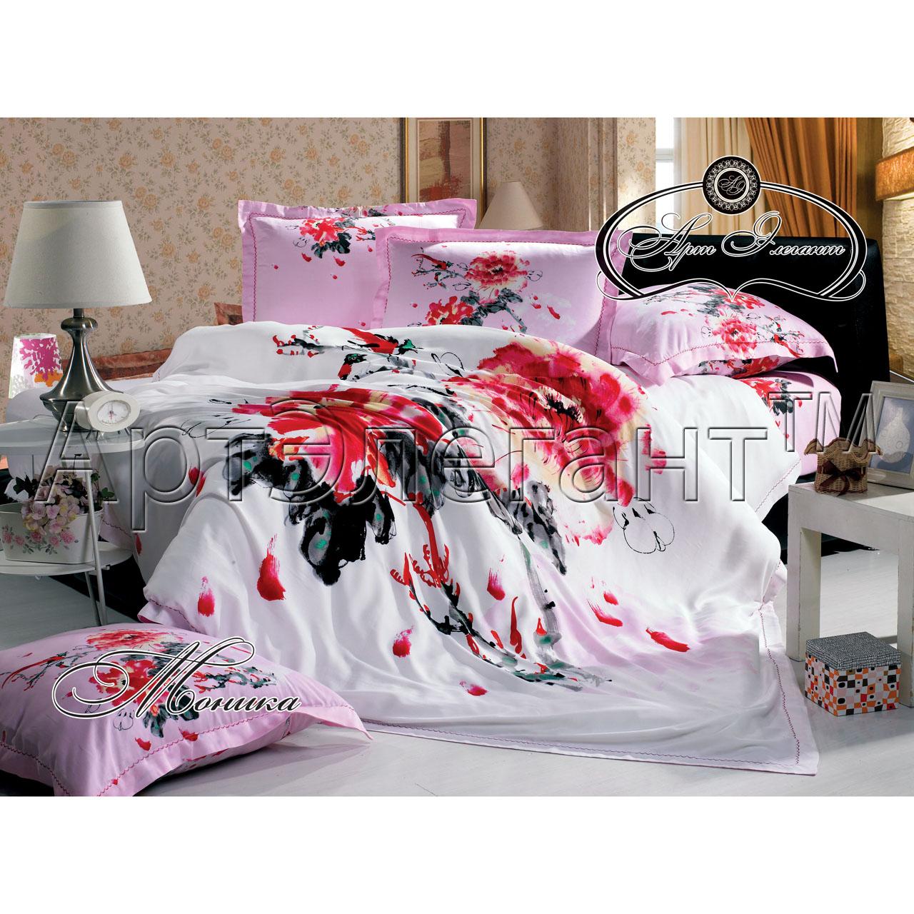 Комплект  Моника , размер 2,0-спальный с 4 наволочками - Постельное белье артикул: 10779