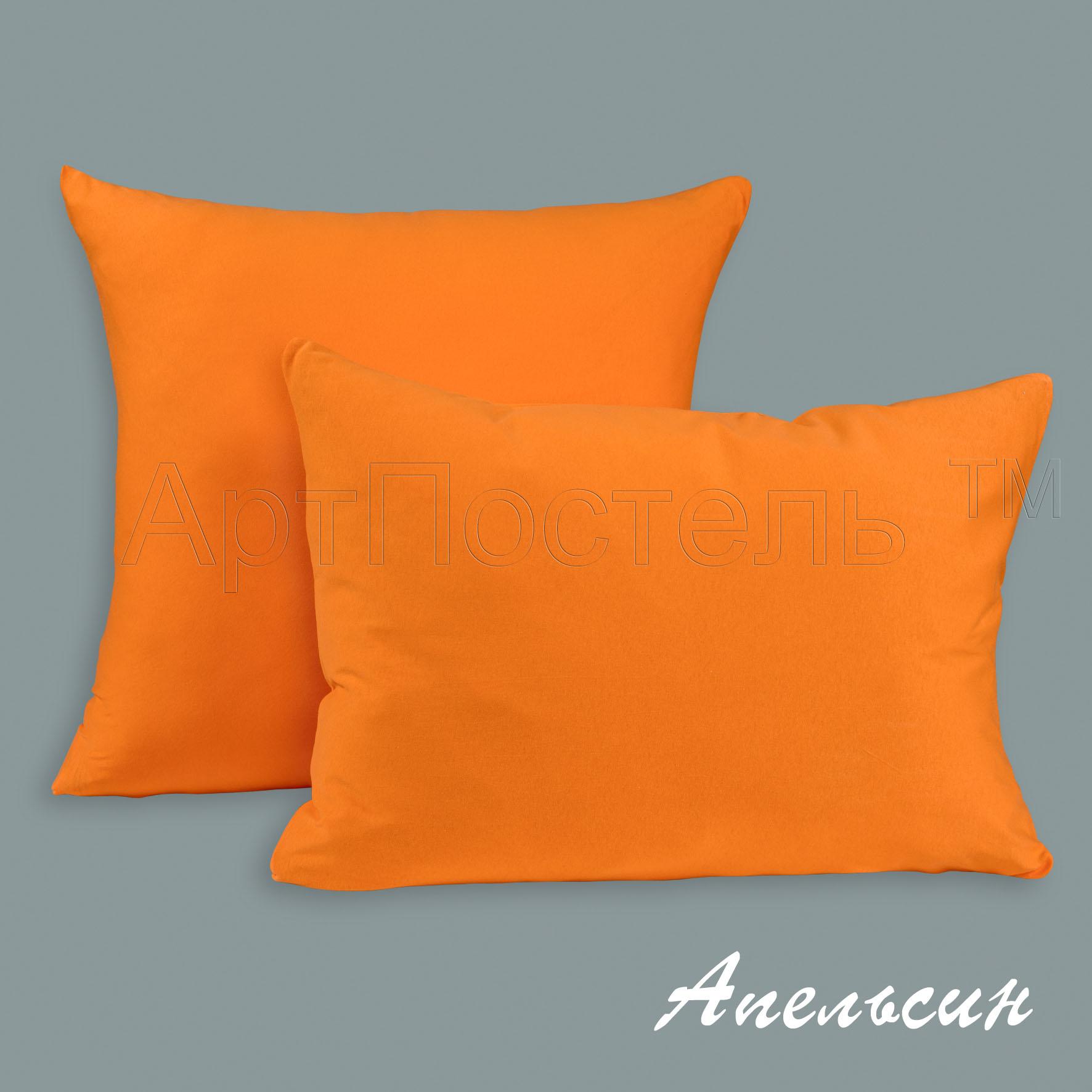 Наволочки Апельсин, размер 70х70 смНаволочки<br>Плотность ткани: 140 г/кв. м <br>Количество: 2 шт.<br><br>Тип: Наволочки<br>Размер: 70х70<br>Материал: Кулирка