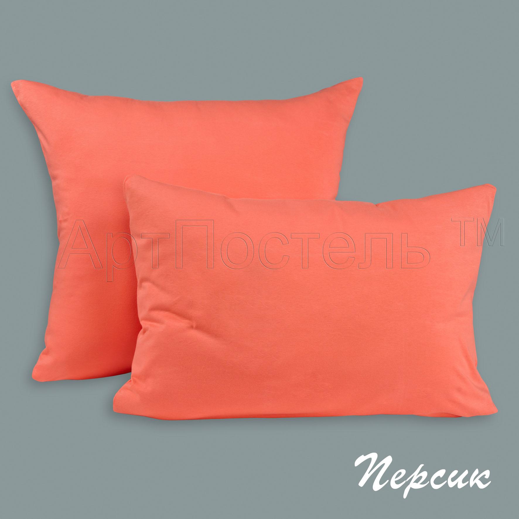 Наволочки Персик, размер 50х70 смНаволочки<br>Плотность ткани:140 г/кв. м<br>Количество:2 шт.<br><br>Тип: Наволочки<br>Размер: 50х70<br>Материал: Кулирка