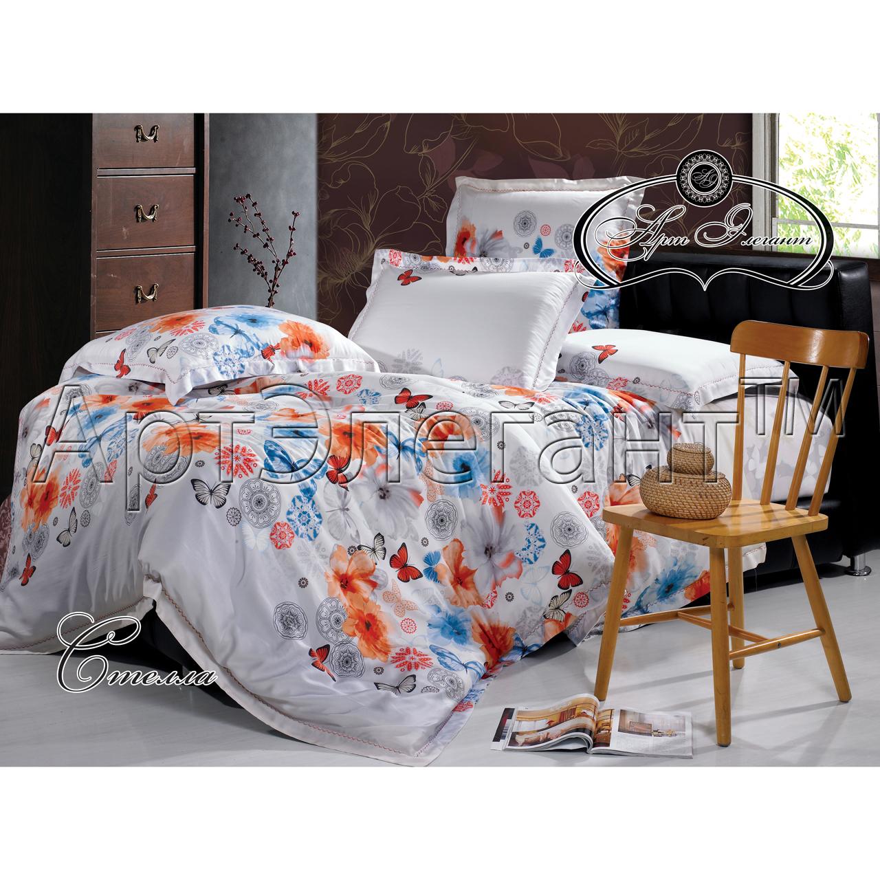 Комплект  Стелла , размер 2,0-спальный с 4 наволочками - Постельное белье артикул: 10788