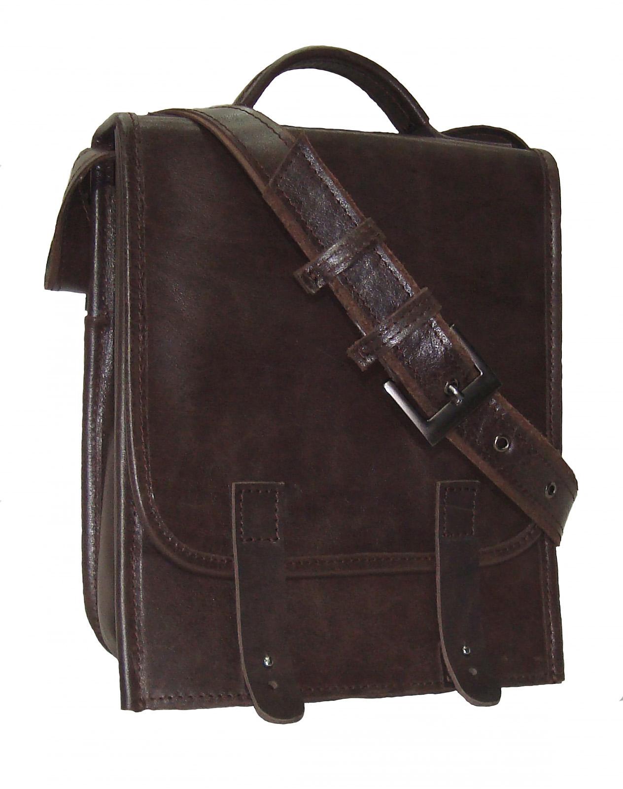 Сумка мужская Модель № 2Сумки и др. изделия из кожи<br>Высота сумки:26 см<br>Ширина верх:22 см<br>Ширина бок:6 см<br>Длинна ремня:120 см<br><br>Тип: Муж. сумка<br>Размер: -<br>Материал: Натуральная кожа