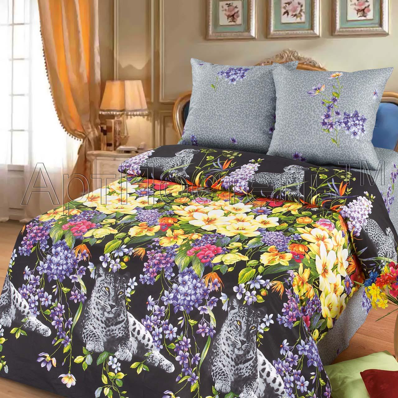 """Фото #1: КПБ """"Таинственная ночь"""", размер 2,0-спальный с европростыней"""