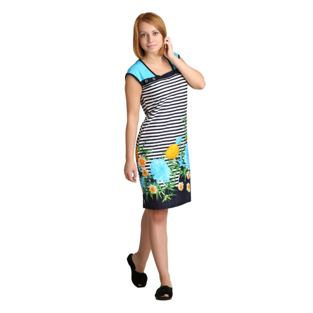Женское платье Силви Бирюзовый, размер 46Платья, туники<br>Обхват груди:92 см<br>Обхват талии:73 см<br>Обхват бедер:100 см<br>Длина по спинке:92 см<br>Рост:164-170 см<br><br>Тип: Жен. платье<br>Размер: 46<br>Материал: Кулирка