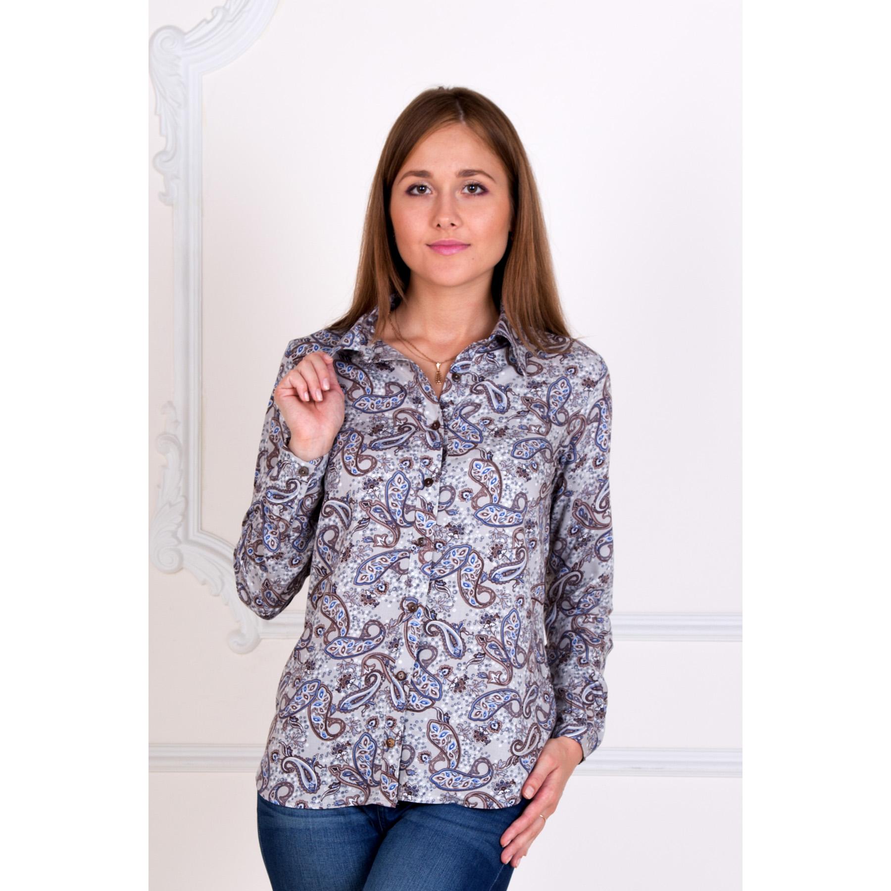 """Женская рубашка """"Лора"""", размер 54 Лика Дресс"""