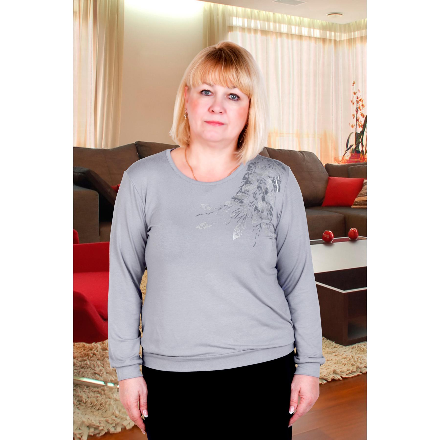 Женская блуза Лира Серый, размер 56Блузы<br>Обхват груди:112 см<br>Обхват талии:92 см<br>Обхват бедер:120 см<br>Рост:167 см<br><br>Тип: Жен. блуза<br>Размер: 56<br>Материал: Вискоза