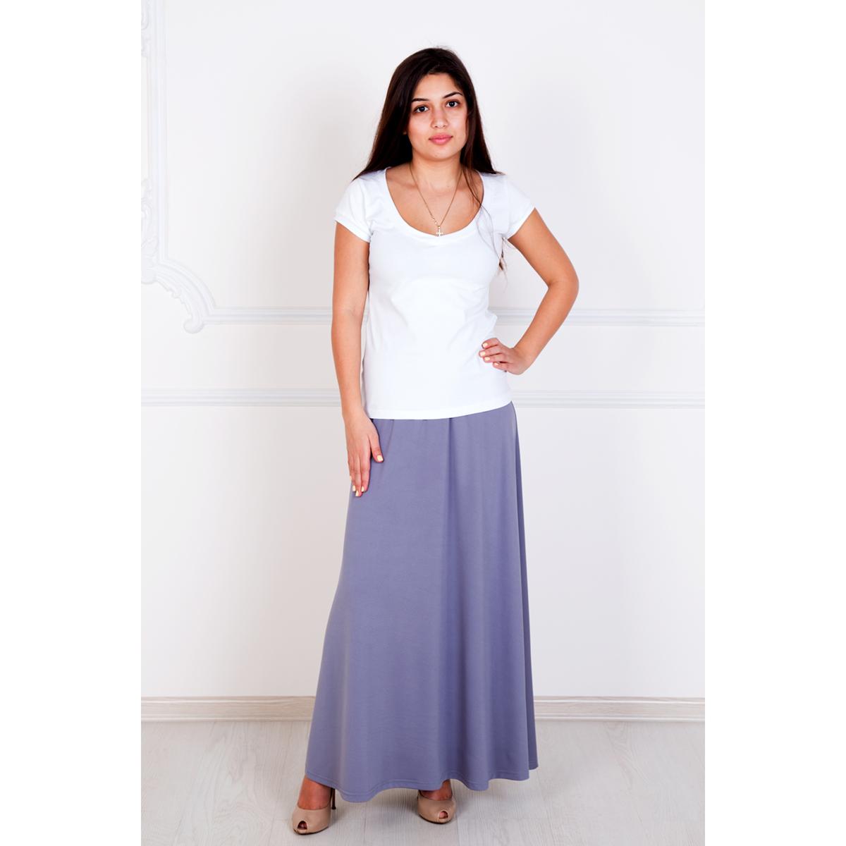 Женская юбка Макси Серый, размер 44Шорты, бриджи, брюки<br>Обхват талии:68 см<br>Обхват бедер:96 см<br>Длина от пояса:96 см<br>Рост:167 см<br><br>Тип: Жен. юбка<br>Размер: 44<br>Материал: Масло