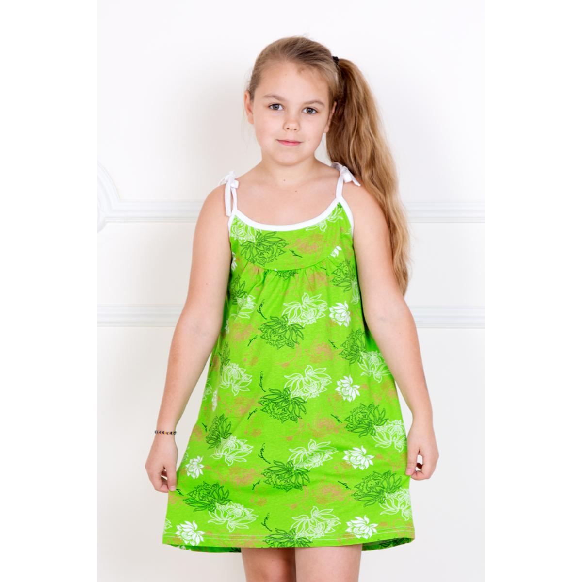 Детский сарафан Машенька, размер 26Платья и сарафаны<br><br><br>Тип: Дет. платье<br>Размер: 26<br>Материал: Кулирка