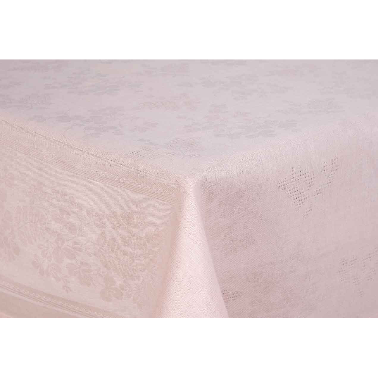 Скатерть Rainbow Кремовый, размер 145х145 смКухонные принадлежности<br><br><br>Тип: Кухонные принадлежности<br>Размер: 145х145<br>Материал: Хлопок