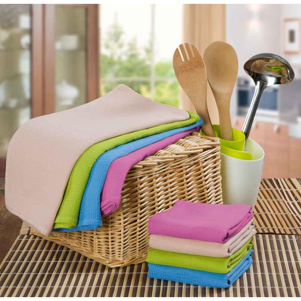 Ваф. полотенце Rainbow, 40х70 см, КремовыйКухонные принадлежности<br><br><br>Тип: Вафельное полотенце<br>Размер: 40х70<br>Материал: Вафельное полотно