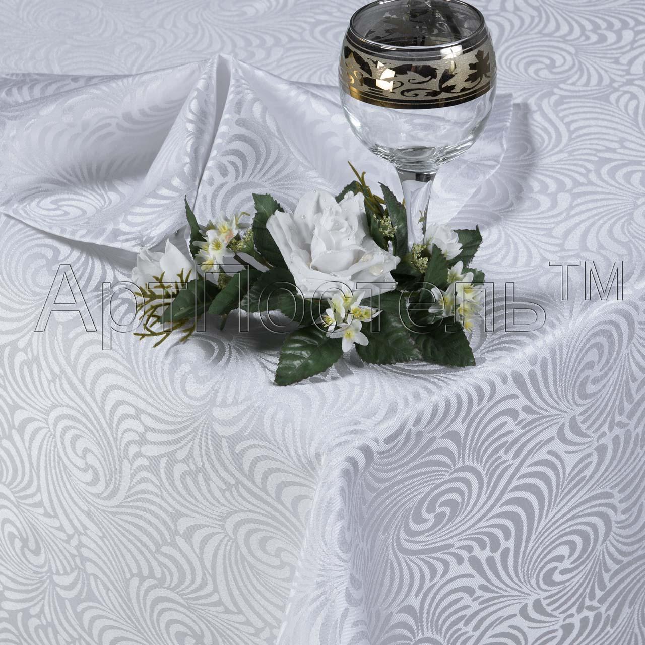 Комплект Версаль Белый, размер 120х150 смКухонные принадлежности<br>Скатерть:120х150 см - 1 шт.<br>Салфетка:35х35 см - 4 шт.<br><br>Тип: Кухонные принадлежности<br>Размер: 120х150<br>Материал: Полиэстер
