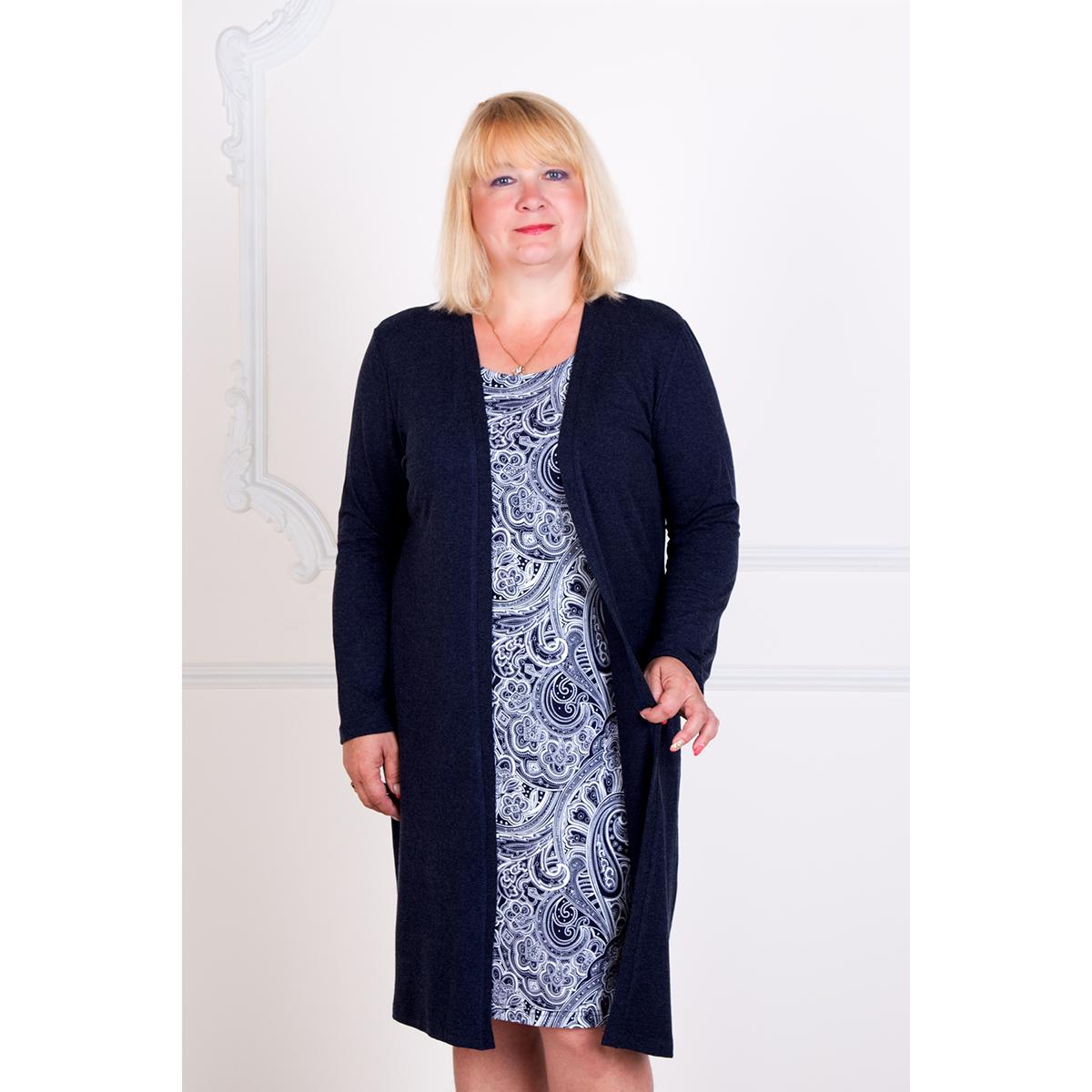 Женское платье Креатив арт. 0151, размер 46Платья<br>Обхват груди:92 см<br>Обхват талии:74 см<br>Обхват бедер:100 см<br>Длина по спинке:94 см<br>Рост:167 см<br><br>Тип: Жен. платье<br>Размер: 46<br>Материал: Хамур
