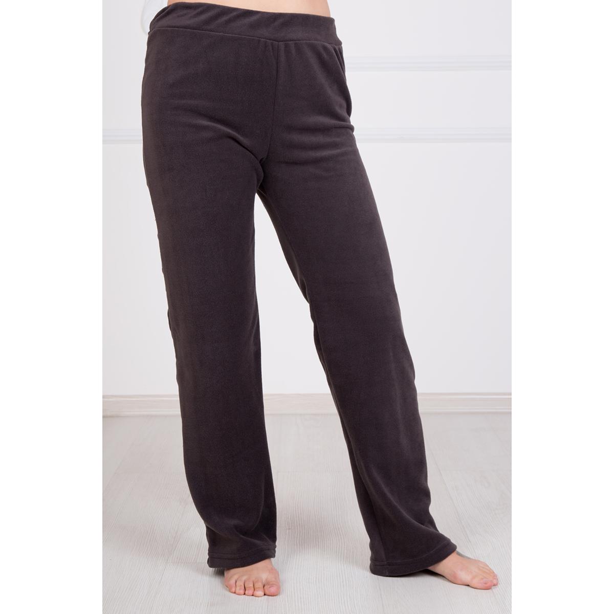Жен. брюки Флис р. 44Брюки<br>Обхват талии: 68 см <br>Обхват бедер: 96 см <br>Рост: 167 см<br><br>Тип: Жен. брюки<br>Размер: 44<br>Материал: Флис