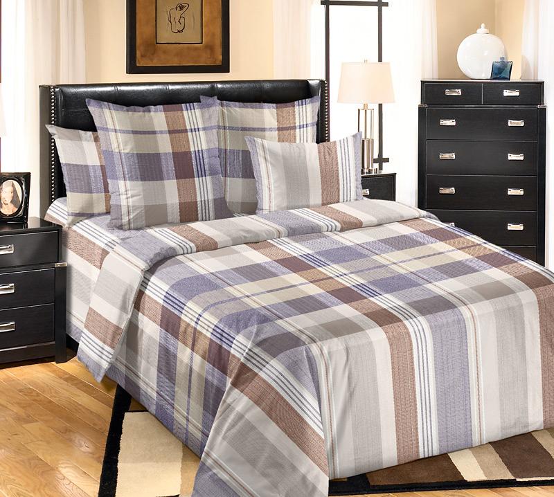 Комплект Уэльс Серый, размер 2,0-спальный с европростынейПеркаль<br>Плотность ткани:110 г/кв. м<br>Пододеяльник:215х175 см - 1 шт.<br>Простыня:220х240 см - 1 шт.<br>Наволочка:70х70 см - 2 шт.<br><br>Тип: КПБ<br>Размер: 2,0-сп. евро<br>Материал: Перкаль