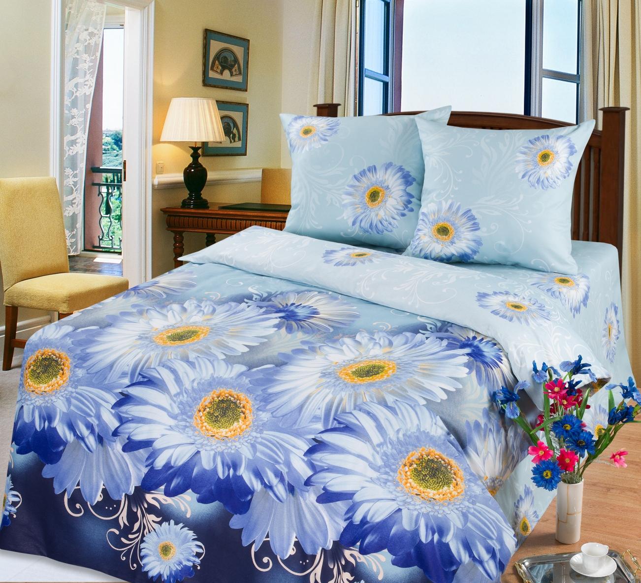 КПБ Зима-Лето  Агата , размер 2,0-спальный с европростыней - Постельное белье артикул: 9031