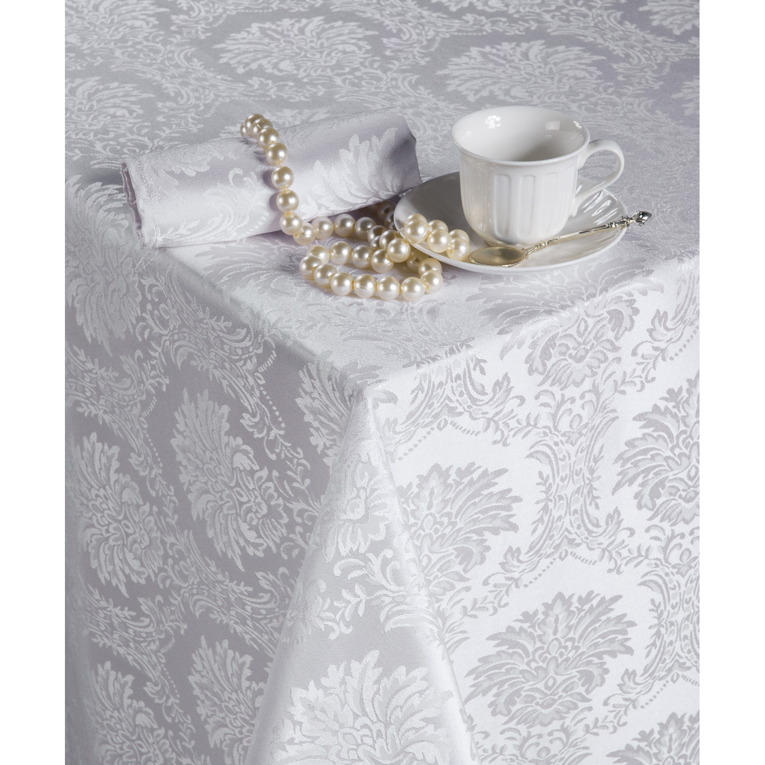 Комплект  Марисабель  Белый, размер 150х150 см - Текстиль для дома артикул: 12219