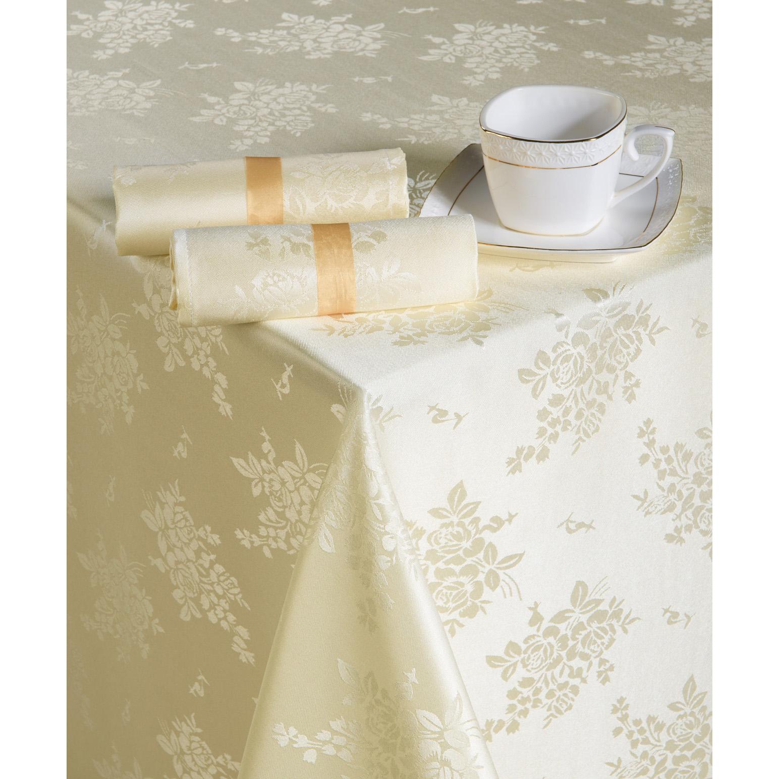 Комплект  Нинель  Шампань, размер 150х150 см - Текстиль для дома артикул: 12220