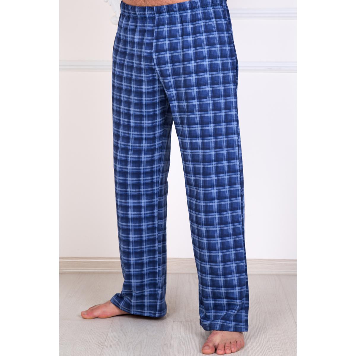 Мужские брюки Клетка, размер 48Брюки<br>Обхват груди: 96 см <br>Обхват талии: 88 см <br>Обхват бедер: 102 см <br>Рост: 172-180 см<br><br>Тип: Муж. брюки<br>Размер: 48<br>Материал: Кулирка