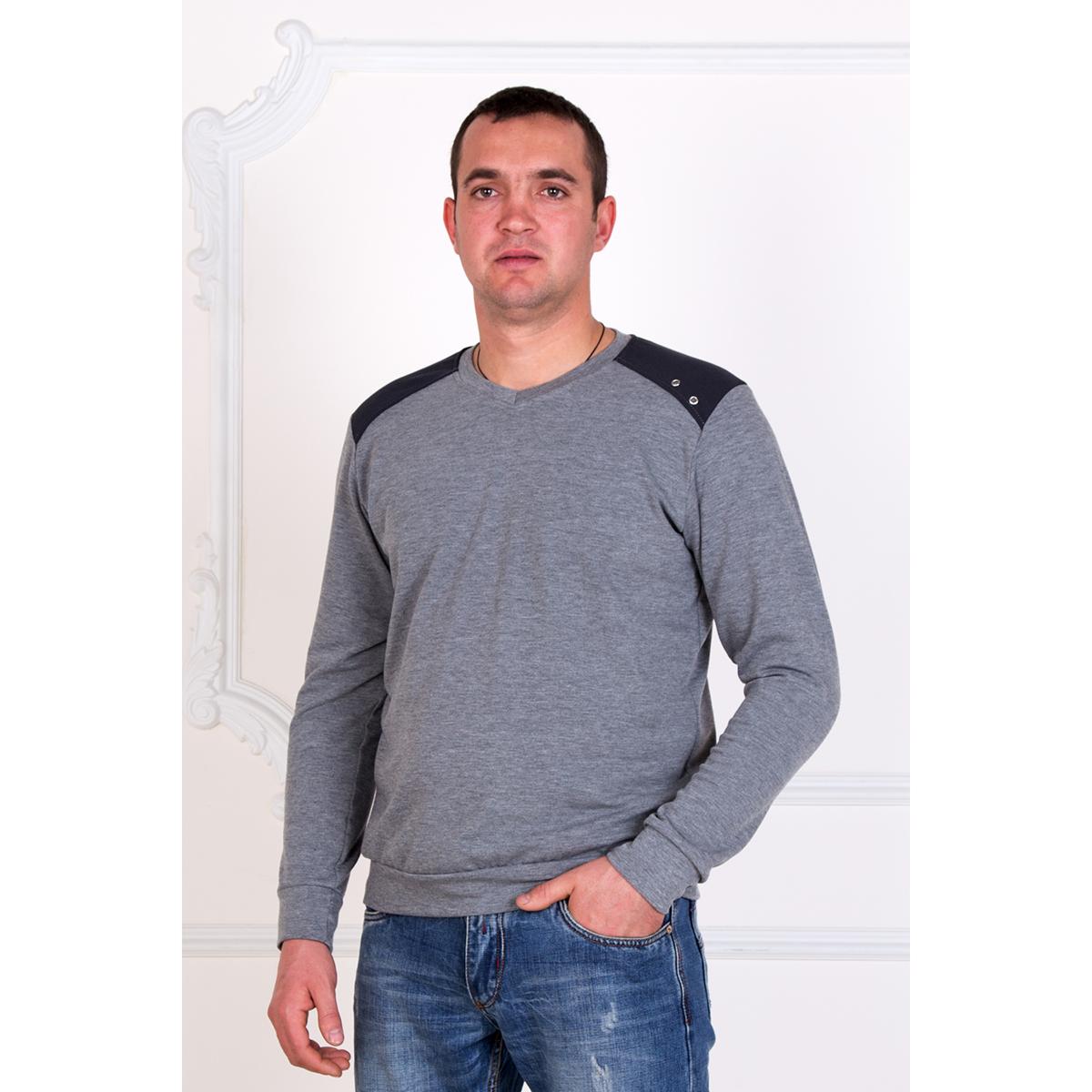 Мужской джемпер «Норд», размер 46Толстовки, джемпера и рубашки<br>Обхват груди:92 см<br>Обхват талии:84 см<br>Обхват бедер:100 см<br>Рост:172-180 см<br><br>Тип: Муж. кофта<br>Размер: 46<br>Материал: Трикотаж
