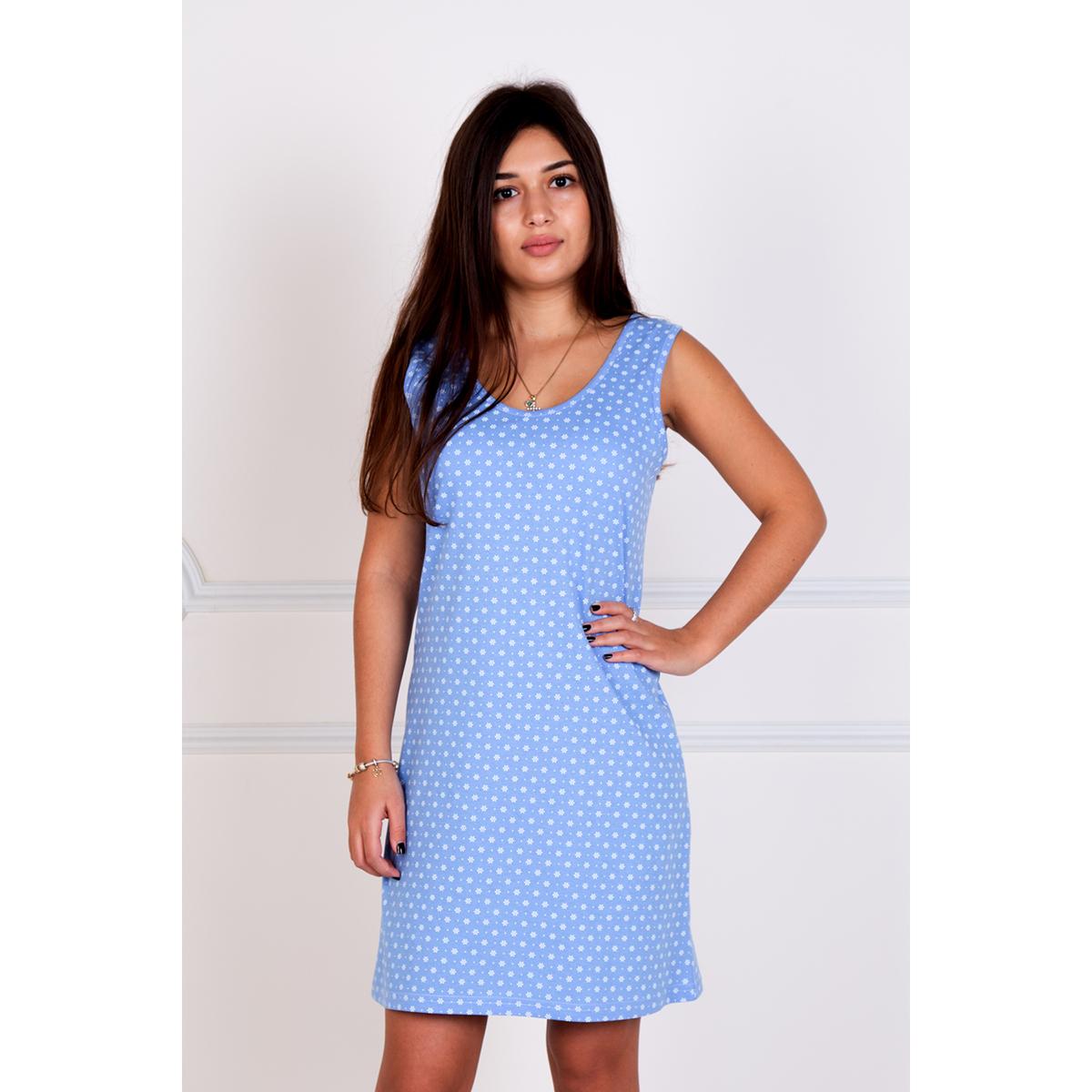"""Женская сорочка """"Влада"""" Голубой, размер 44 Лика Дресс"""